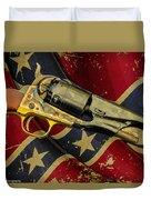 Confederate Sidearm Duvet Cover