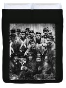 Confederate Soldiers, 1861 - To License For Professional Use Visit Granger.com Duvet Cover