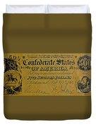 Confederate States Duvet Cover
