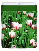 Confederation Tulips Duvet Cover