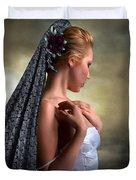 Confident Beauty Duvet Cover