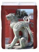Confucius Temple Phoenix  Duvet Cover