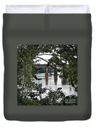 Congaree River Glimpse Duvet Cover
