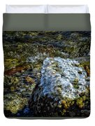 Conglomerate Ice Duvet Cover