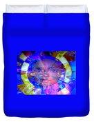 Congo Queen Mandala Duvet Cover