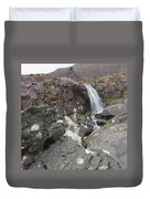 Connor Pass Waterfall Duvet Cover