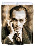 Conrad Veidt, Vintage Actor Duvet Cover