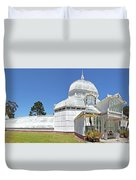 Conservatory Of Flowers Duvet Cover