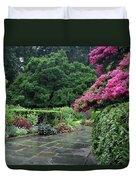 Conservatory Rain Duvet Cover