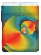 Constellation Of Planets Duvet Cover