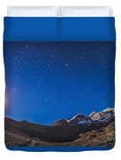 Constellations Of Perseus, Andromeda Duvet Cover