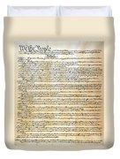 Constitution Duvet Cover