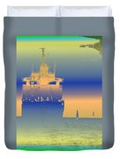 Container Sail 2 Duvet Cover