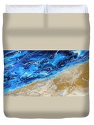Contemporary Abstract Beach Nacl Duvet Cover