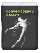 Contemporary Ballet  Duvet Cover