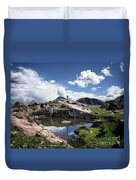 Continental Divide Above Twin Lakes 2 - Weminuche Wilderness Duvet Cover
