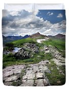 Continental Divide Above Twin Lakes 6 - Weminuche Wilderness Duvet Cover