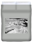 Continental Divide Clouds Rocky Mountains Duvet Cover