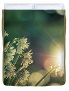 Contra Jour Flowers 1 Duvet Cover