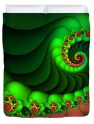 Contrasted Harmony Duvet Cover