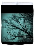 Contrasted Trees Duvet Cover