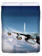 Convair B-58 Hustler Duvet Cover