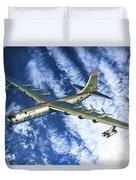 Convair B36 - Oil Duvet Cover