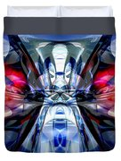 Convergence Abstract Duvet Cover by Alexander Butler