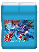 Convergence Of The Four Winds Duvet Cover