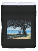 Conversation In The Park Duvet Cover