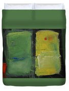 Conversation With Rothko Duvet Cover