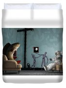 Conversing With Demons At 2 Am Duvet Cover