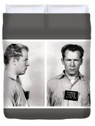 Convict No. 1428 - Whitey Bulger - Alcatraz 1959 Duvet Cover