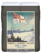 Convoy Your Country To Victory Duvet Cover