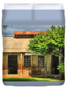 Cookhouse Theater Lahaina Duvet Cover