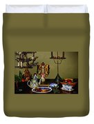 Cookies For St Nick Duvet Cover