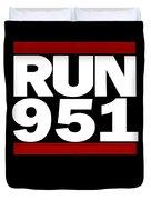 951 Design Run California Gifts 951 Shirt Duvet Cover