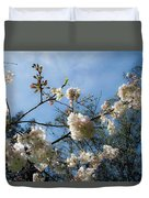 Cool Cherry Blossoms Duvet Cover