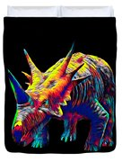Cool Dinosaur Color Designed Creature Duvet Cover