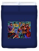 Cool Jazz Duvet Cover