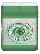 Cool Mint Whip Duvet Cover
