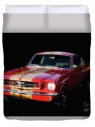Cool Mustang Duvet Cover