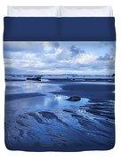 Cool Summer At Beach Duvet Cover