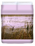 Cool Sunset At White City Duvet Cover