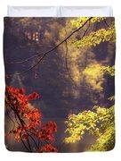 Cool Vermont Autumn Day Duvet Cover