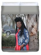 Cool With Braids 5 Duvet Cover