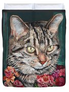 Cooper The Cat Duvet Cover