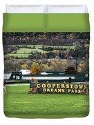 Cooperstown Dreams Park Duvet Cover