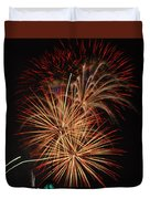 Coors Field Fireworks 4 Duvet Cover