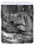 Coos Canyon Black And White Duvet Cover